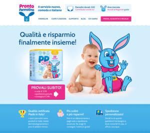 Ancora un po' di pazienza... Il servizio di ProntoPannolino sarà presto online!