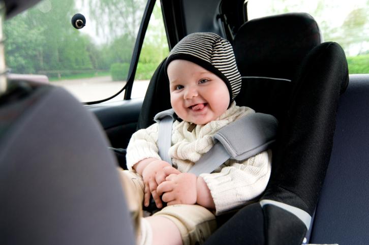 Viaggiare in macchina coi bimbi