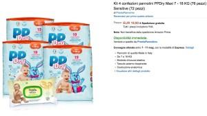 Pannolini PPDry su Amazon