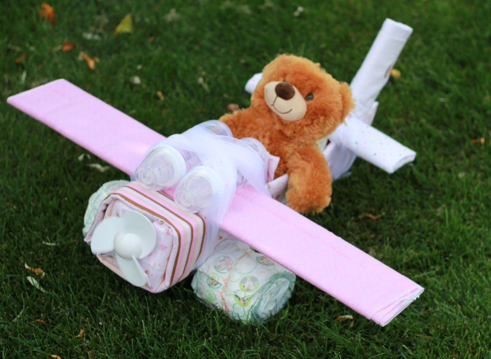 diaper cake airplane