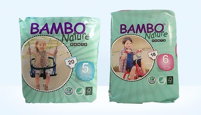 pannolini a mutandina bambo nature prontopannolino ppstore